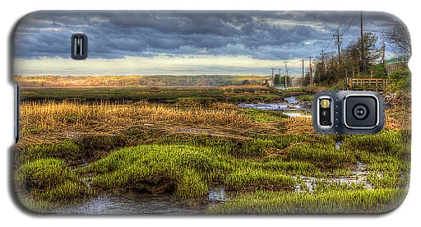 Merrimack River Marsh Galaxy S5 Case