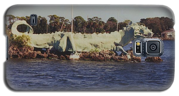 Galaxy S5 Case featuring the photograph Merritt Island River Dragon by Bradford Martin