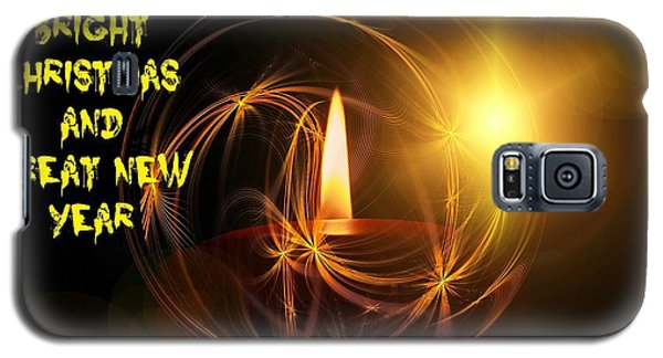 Merry Christmas 45 Galaxy S5 Case