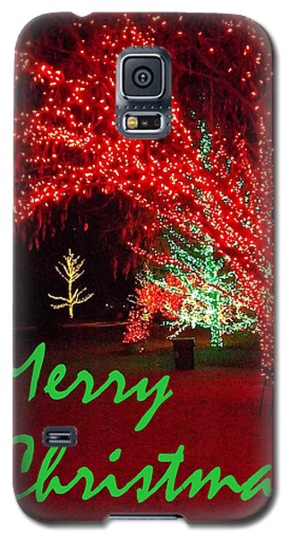 Galaxy S5 Case featuring the photograph Merry Christmas by Darren Robinson