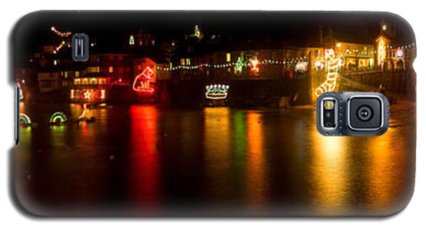 Merry Christmas Mousehole Lights Galaxy S5 Case