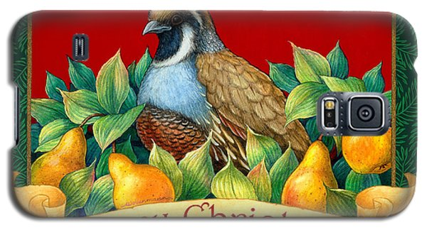 Merry Christmas Partridge Galaxy S5 Case