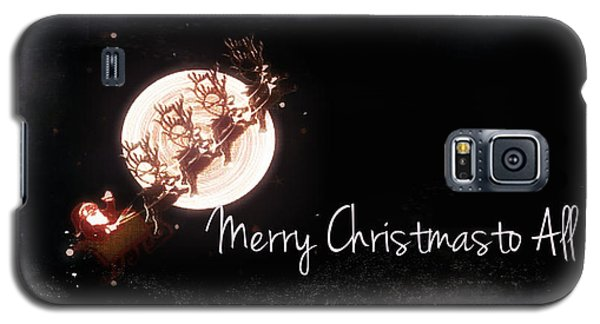 Merry Christmas To All Galaxy S5 Case
