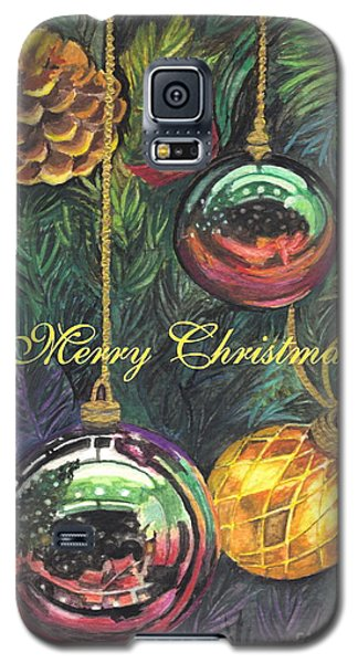 Merry Christmas Wishes Galaxy S5 Case