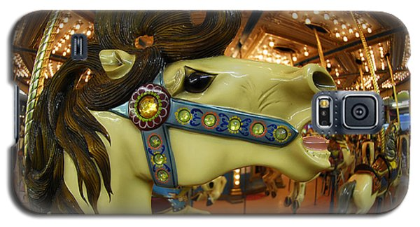 Galaxy S5 Case featuring the photograph Merry Go Round by Sami Martin