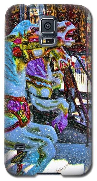 Merry Go Round Galaxy S5 Case