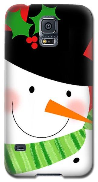 Merry Snowman Galaxy S5 Case