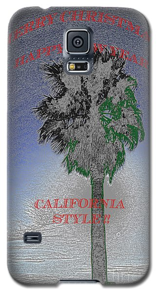 Merry Xmas And Happy Holidays Galaxy S5 Case by Gary Brandes