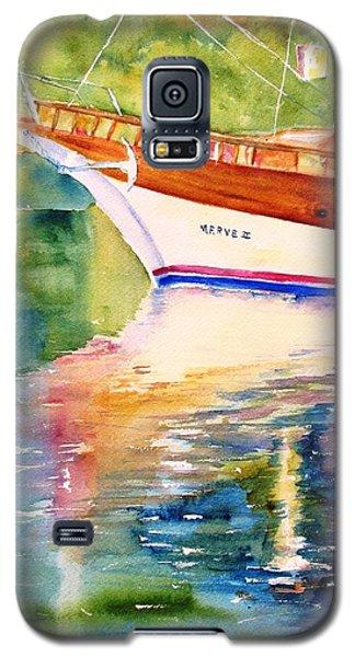 Merve II Gulet Yacht Reflections Galaxy S5 Case