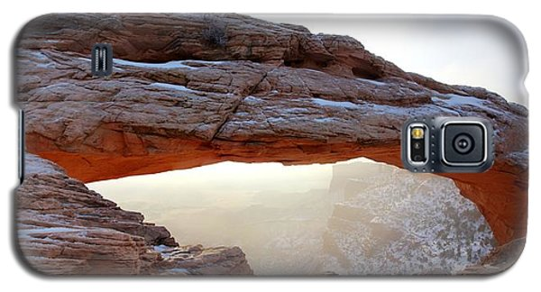 Mesa Arch Looking North Galaxy S5 Case