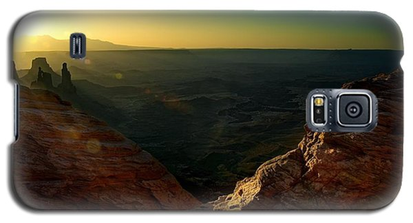 Mesa Arch Without The Arch Galaxy S5 Case by Mark Garbowski