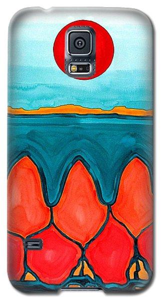 Mesa Canyon Rio Original Painting Galaxy S5 Case