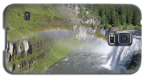 Galaxy S5 Case featuring the photograph Mesa Falls by Joel Deutsch