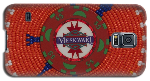 Meskwaki Orange Galaxy S5 Case