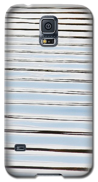 Galaxy S5 Case featuring the photograph Mesmerizing Waves by Anita Oakley