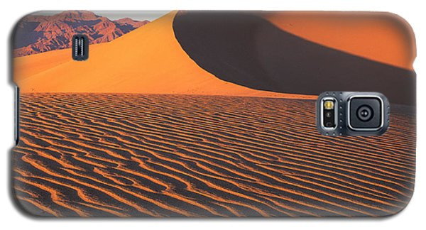 Mesquite Dunes 1-sq Galaxy S5 Case