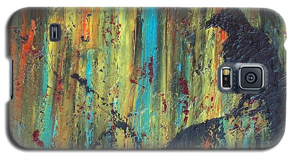 Galaxy S5 Case featuring the painting Messenger by Jacqueline McReynolds