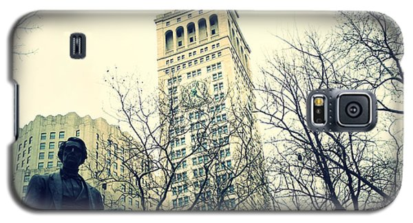 Met Life And Madison Square Park Galaxy S5 Case