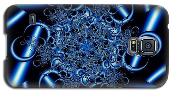 Metal Lace Galaxy S5 Case by Barbara R MacPhail