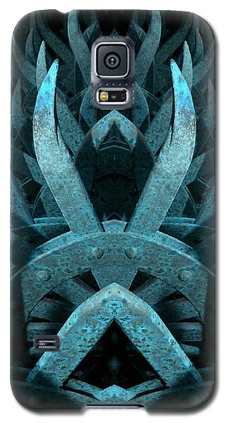 Galaxy S5 Case featuring the photograph Metal Mayhem by WB Johnston