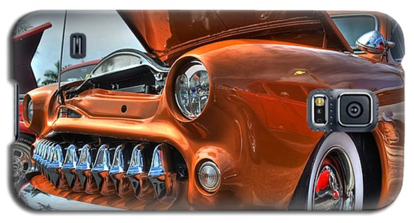 Galaxy S5 Case featuring the photograph Metal Mouth Hot Rod by Timothy Lowry