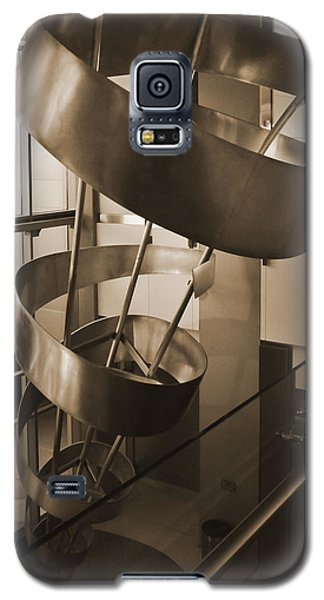 Galaxy S5 Case featuring the sculpture Metal Structure by Debra Crank