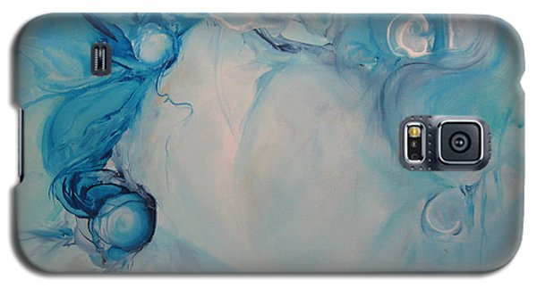 Galaxy S5 Case featuring the painting Metamorphosis I by Elis Cooke