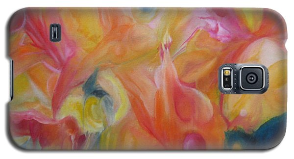 Galaxy S5 Case featuring the painting Metamorphosis Iv by Elis Cooke