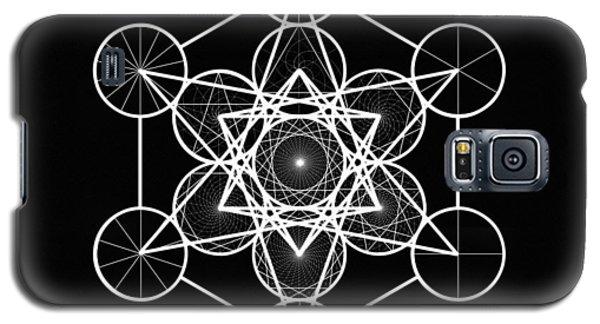 Metatron Wheel Cube Galaxy S5 Case