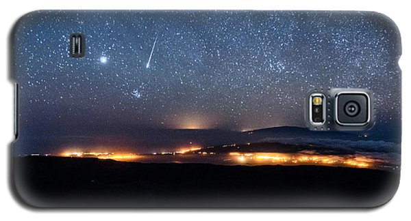 Meteor Over The Big Island Galaxy S5 Case