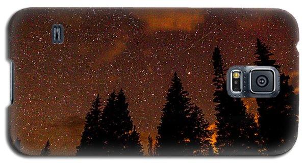 Meteor Shower Galaxy S5 Case