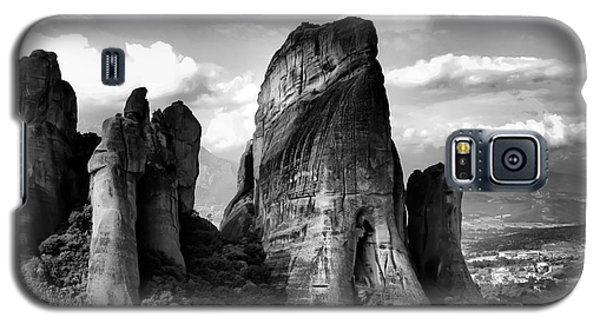 Meteora Greece Strange Rock Formation Galaxy S5 Case