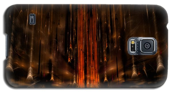 Meteors Galaxy S5 Case by GJ Blackman