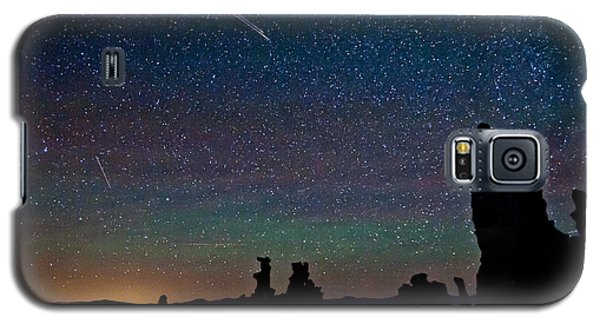 Meteors Over Mono Lake Galaxy S5 Case