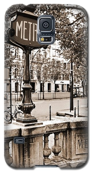 Metro Franklin Roosevelt - Paris - Vintage Sign And Streets Galaxy S5 Case