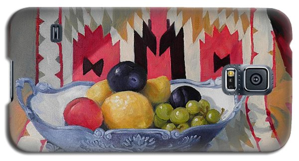 Mexican Blanket With Fruit Bowl Galaxy S5 Case