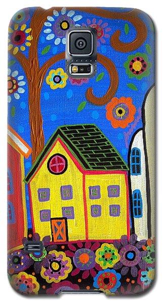 Mexican Church Town Galaxy S5 Case