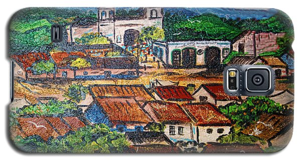 Mexican Mural Galaxy S5 Case by Linda Phelps