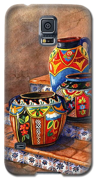 Mexican Pottery Still Life Galaxy S5 Case