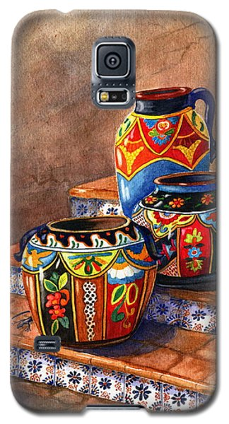 Mexican Pottery Still Life Galaxy S5 Case by Marilyn Smith