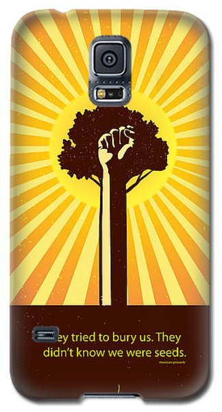 Mexican Proverb Minimalist Poster Galaxy S5 Case