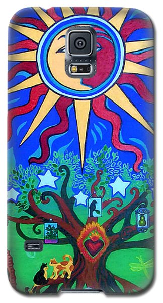 Mexican Retablos Prayer Board Small Galaxy S5 Case by Genevieve Esson