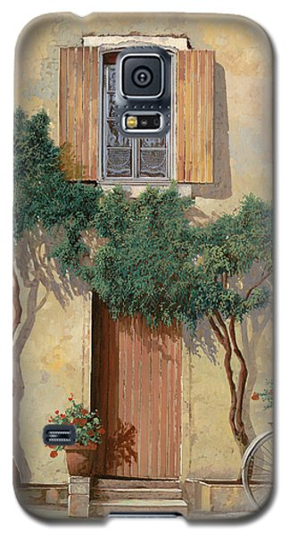 Bicycle Galaxy S5 Case - Mezza Bicicletta Sul Muro by Guido Borelli