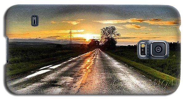#mgmarts #driving #lonely #instamood Galaxy S5 Case by Marianna Mills