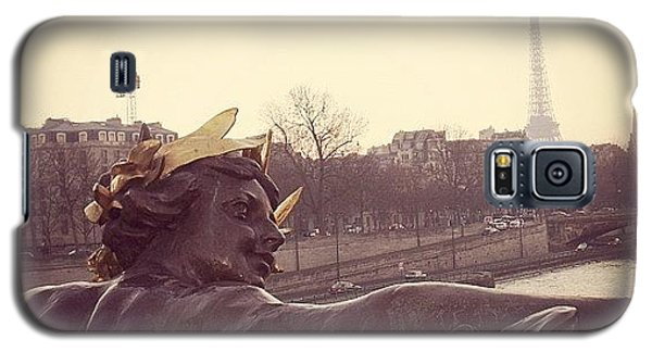 #mgmarts #france #paris #statue #bridge Galaxy S5 Case