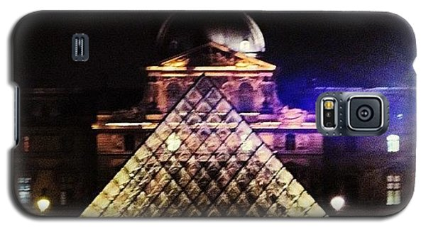 Sky Galaxy S5 Case - #mgmarts #louvre #paris #france #europe by Marianna Mills