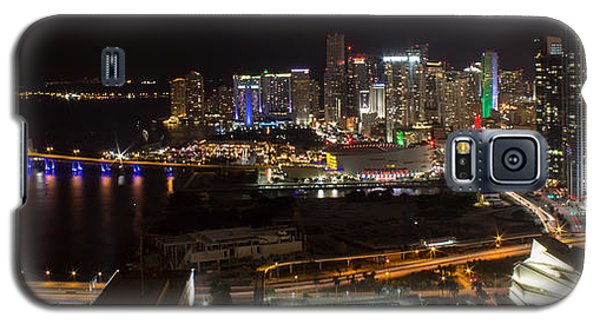 Miami After Dark II Skyline  Galaxy S5 Case