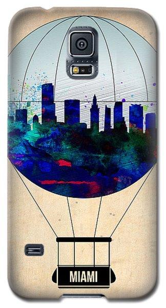 Miami Galaxy S5 Case - Miami Air Balloon by Naxart Studio