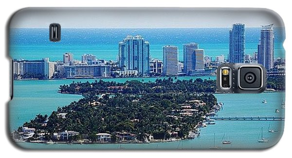Iger Galaxy S5 Case - Miami Beach & Biscayne Bay by Joel Lopez