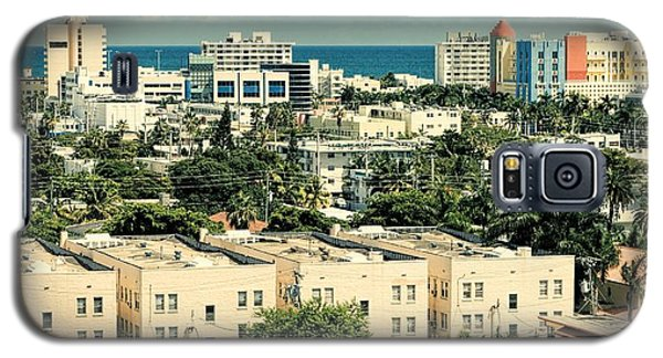 Miami Beach-0156 Galaxy S5 Case